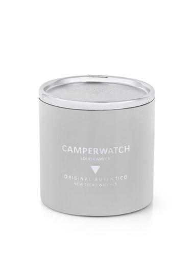 Camper Watch Camper Watch 41 Mm.  Deri Kordon Erkek Analog Kol Saati Siyah